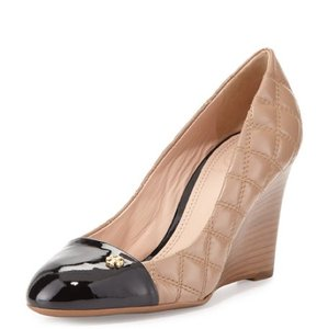 Tory Burch Clay Beige/black Pumps