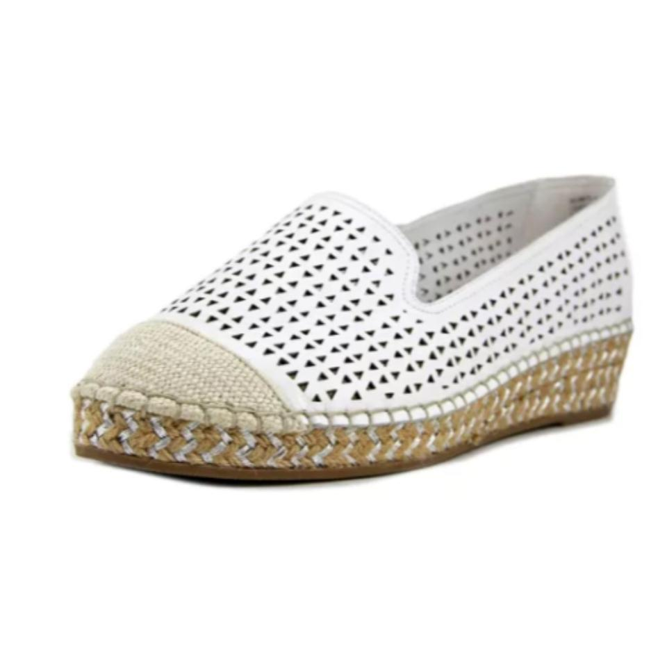 6b32589d321 Bella Vita White Women's Channing Cutout Espadrille Loafer Sneakers Size US  12 Narrow (Aa, N) 49% off retail