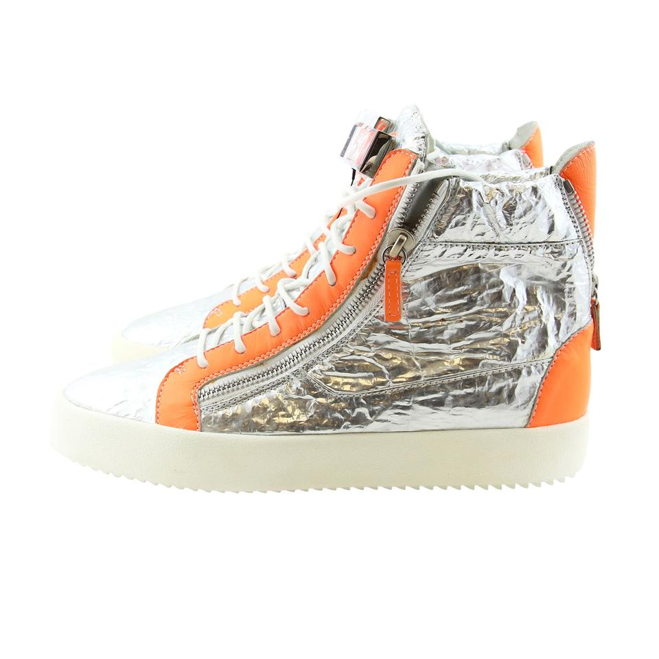 6d6c5e4f44ba8 Giuseppe Zanotti Home For Men High-tops High-top Sneakers Sneakers Metallic  Silver ...