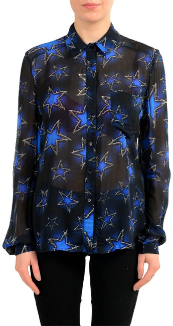 Just Cavalli Button Down Shirt Multi-Color Image 0