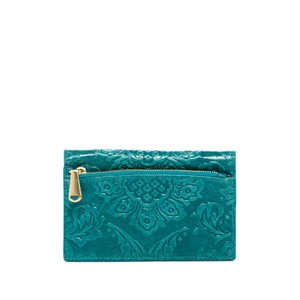 Hobo International DAMASK EMB TEAL GR Clutch