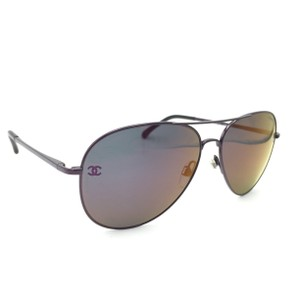 Chanel Aviator Pilot Mirror Sunglasses 4189 467/C1