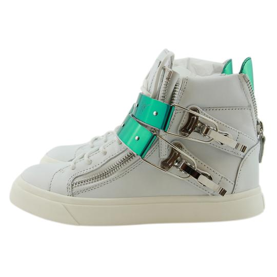 Giuseppe Zanotti Sneakers High-top Sneakers London For Women White Athletic Image 2