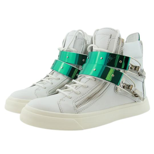 Giuseppe Zanotti Sneakers High-top Sneakers London For Women White Athletic Image 5
