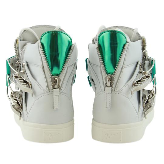 Giuseppe Zanotti Sneakers High-top Sneakers London For Women White Athletic Image 7
