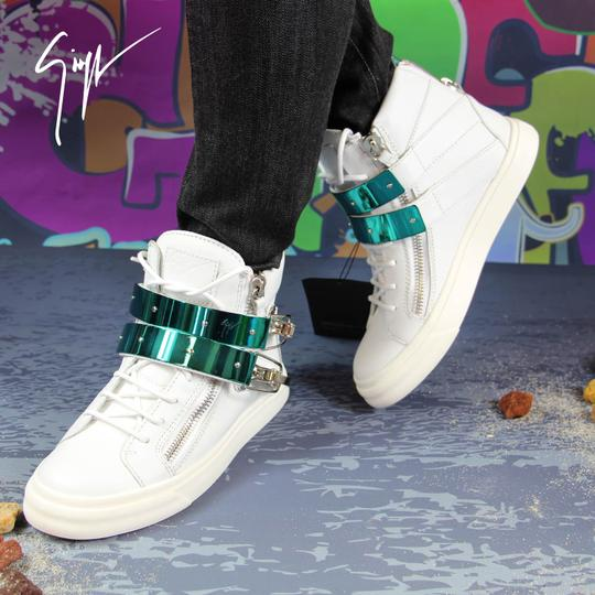 Giuseppe Zanotti Sneakers High-top Sneakers London For Women White Athletic Image 8