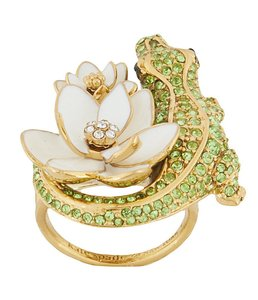Kate Spade Brand New New Kate Spade Swamped Alligator Cocktail Ring Size 6