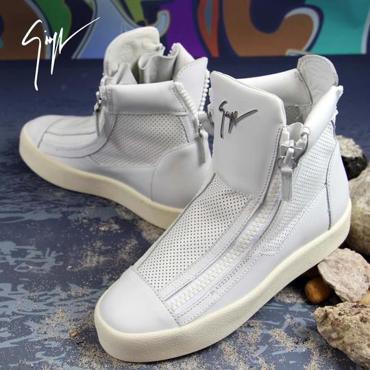 Giuseppe Zanotti Sneakers High-top Sneakers London For Women White Athletic Image 9