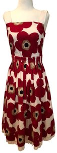 Dolce&Gabbana short dress Multi Floral Red White on Tradesy