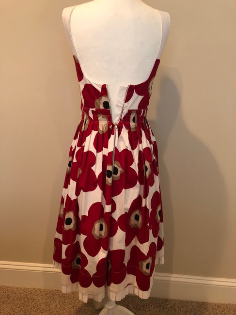 Dolce&Gabbana short dress Multi Floral Red White on Tradesy Image 3
