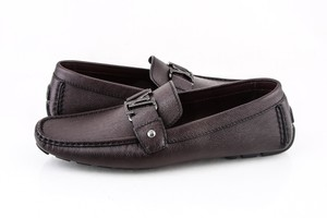 Louis Vuitton * Dark Brown Monte Carlo Loafer Shoes