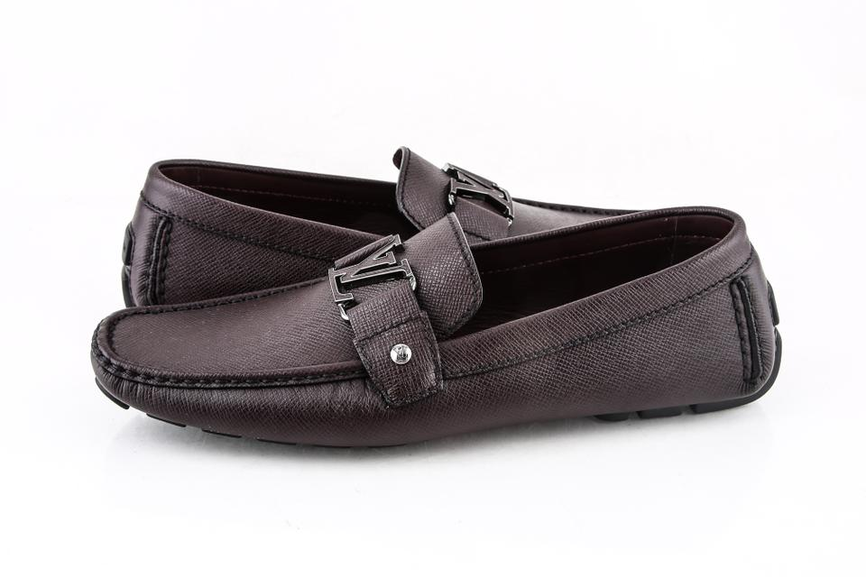 11ee1a8f7fe5 Louis Vuitton   Dark Brown Monte Carlo Loafer Shoes Image 0 ...