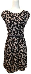 MILLY Print Fitandflare Dress
