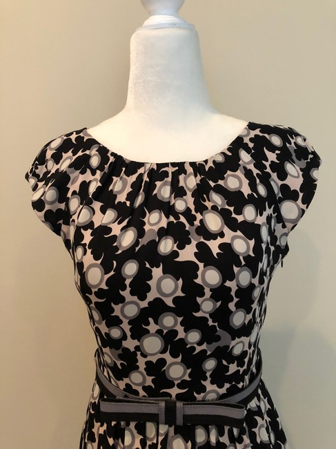 MILLY Print Fitandflare Dress Image 1