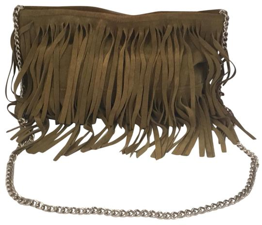 Preload https://img-static.tradesy.com/item/23404984/posse-anissa-fringe-convertible-clutch-green-suede-leather-cross-body-bag-0-1-540-540.jpg