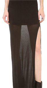 Bella Luxx Maxi Skirt black