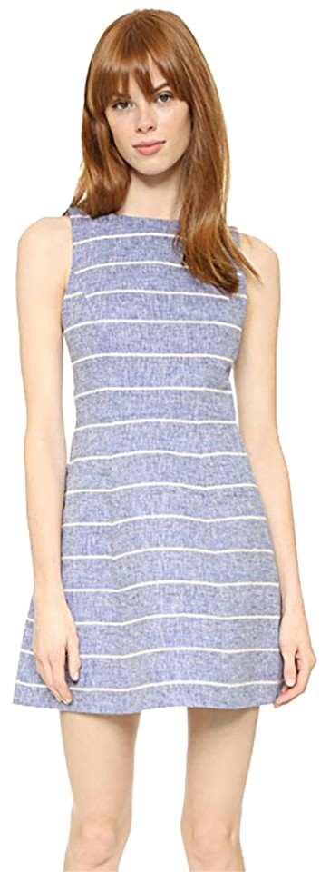 Olivia Blue and Casual Structured Dress Striped White Alice Lindsey FdwzqFg