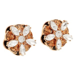 Kate Spade NWT Fame and Flowers Stud Post Statement Earrings O0RU1613