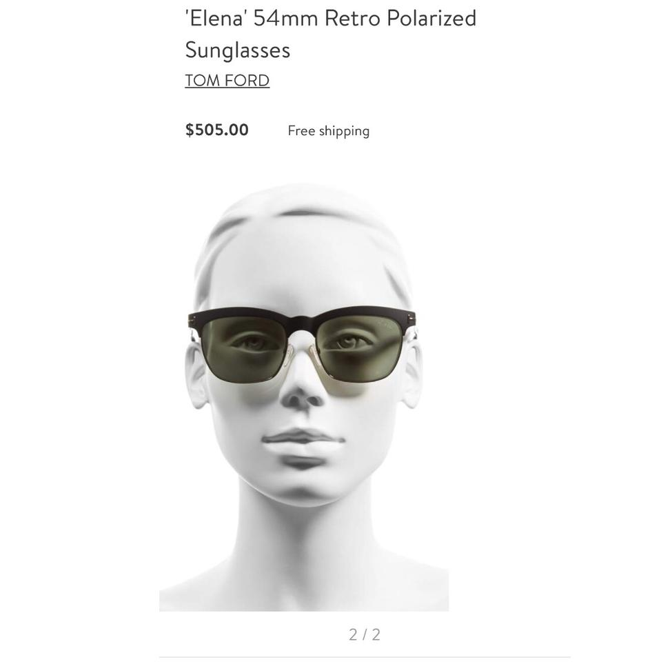6cd15ccb3a0 Tom Ford Tom Ford Elena Sunglasses Image 0 ...