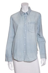 AMO Button Down Shirt Denim