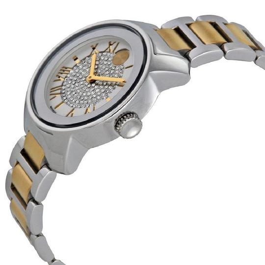 Movado Bold Silver Dial Two Tone Ladies Watch Image 1