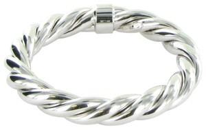 Roberto Coin 5th Season Twisted Bangle Bracelet Sterling Silver