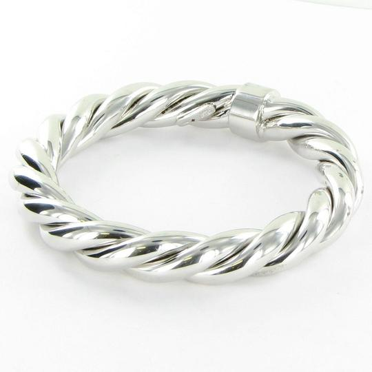Roberto Coin 5th Season Twisted Bangle Bracelet Sterling Silver Image 1