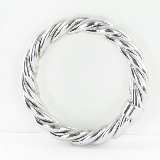 Roberto Coin 5th Season Twisted Bangle Bracelet Sterling Silver Image 2