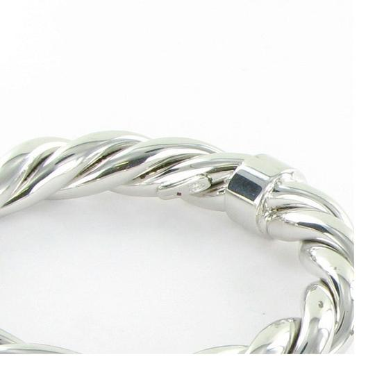 Roberto Coin 5th Season Twisted Bangle Bracelet Sterling Silver Image 3