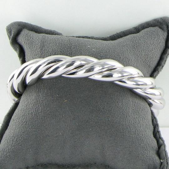 Roberto Coin 5th Season Twisted Bangle Bracelet Sterling Silver Image 4
