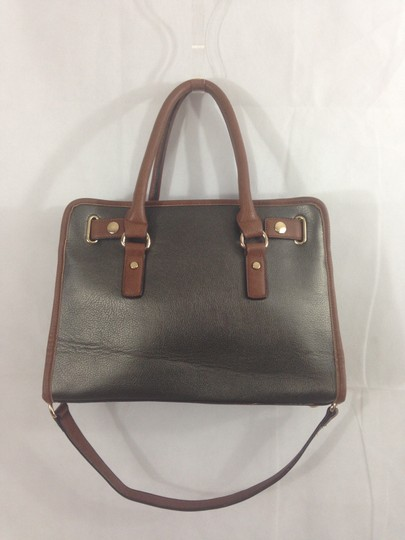 Unbranded Satchel in Grey / Brown Image 1