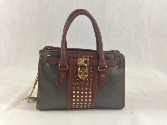 Unbranded Satchel in Grey / Brown Image 2