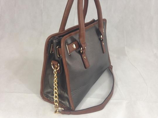 Unbranded Satchel in Grey / Brown Image 4