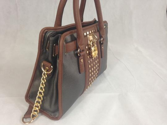 Unbranded Satchel in Grey / Brown Image 5