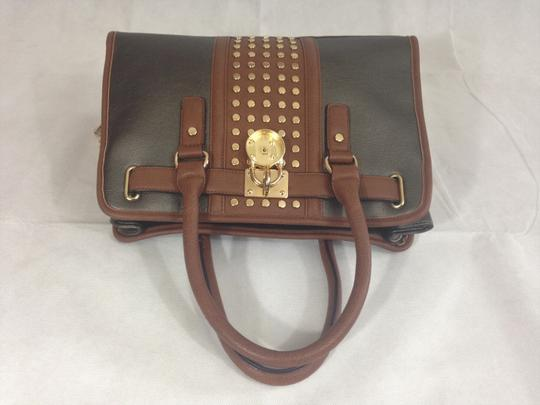 Unbranded Satchel in Grey / Brown Image 7