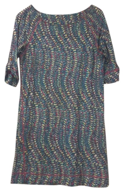 Preload https://img-static.tradesy.com/item/23405547/lilly-pulitzer-multi-color-34-sleeve-cotton-shell-short-casual-dress-size-8-m-0-1-650-650.jpg