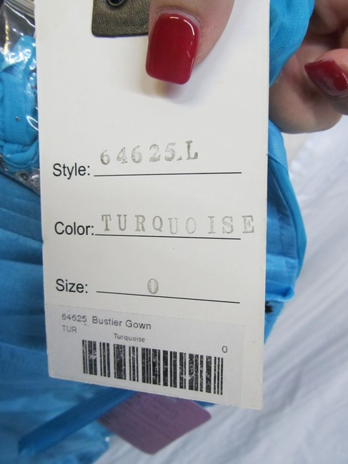 Mac Duggal Couture Prom Pageant Homecoming Dress Image 7