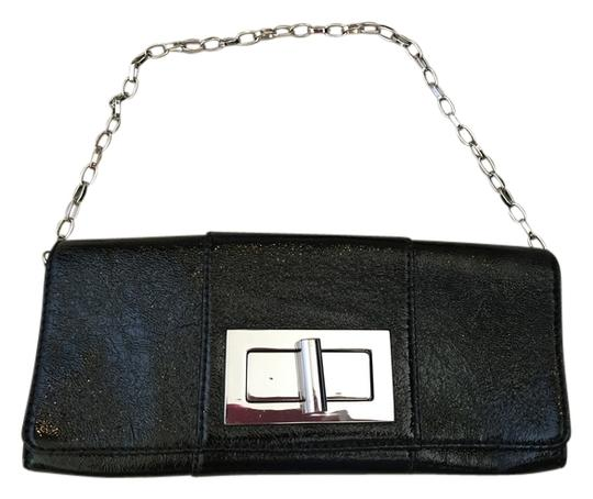 Banana Republic Night Out Accessory Black Clutch