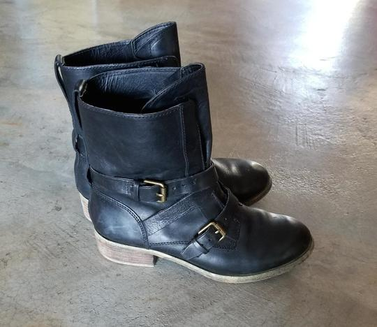 Denim & Supply Motorcycle Ralph Lauren Brit Frye Engineer Black Boots Image 1