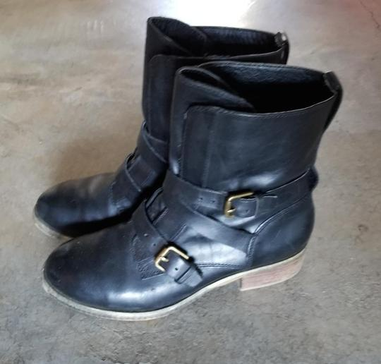 Denim & Supply Motorcycle Ralph Lauren Brit Frye Engineer Black Boots Image 2