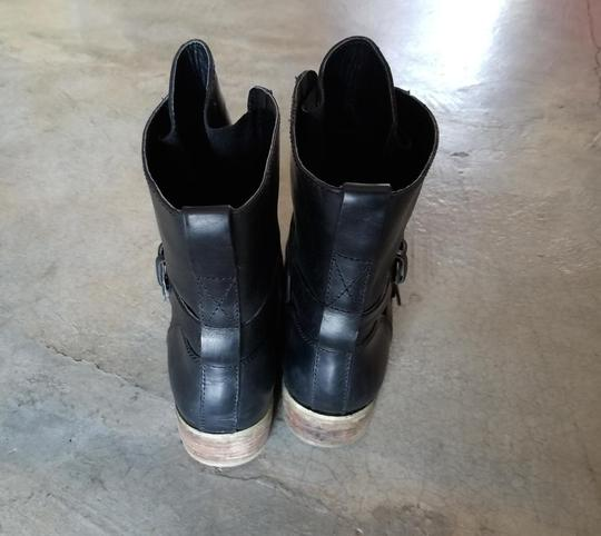 Denim & Supply Motorcycle Ralph Lauren Brit Frye Engineer Black Boots Image 3