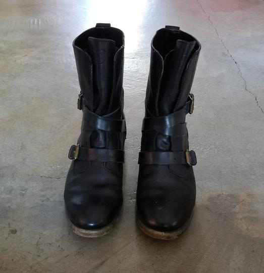 Denim & Supply Motorcycle Ralph Lauren Brit Frye Engineer Black Boots Image 5