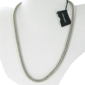 John Hardy Classic Chain Small Necklace Sterling Silver 6.26mm 18""