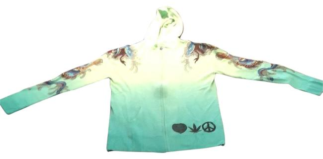 Preload https://img-static.tradesy.com/item/23405794/a-and-g-by-amal-guessous-turquoise-gradient-f8mhd31pg-08-sweatshirthoodie-size-12-l-0-1-650-650.jpg