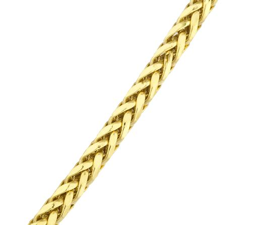 JMD LUX 24 Inch 10KT Gold Wheat / Palm Chain 2.5mm Necklace Unisex Image 2