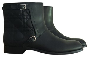 Dior Leather Soft Black Boots