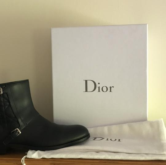 Dior Leather Soft Black Boots Image 10