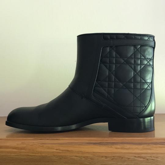 Dior Leather Soft Black Boots Image 2