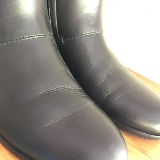Dior Leather Soft Black Boots Image 8