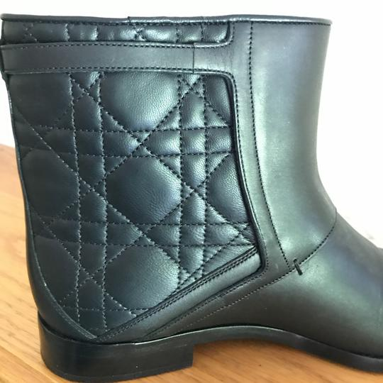 Dior Leather Soft Black Boots Image 9